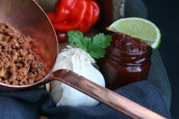 Miljøbilde BBQ-saus og taco