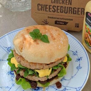 Chicken Cheese Burger 150 g 1-pk
