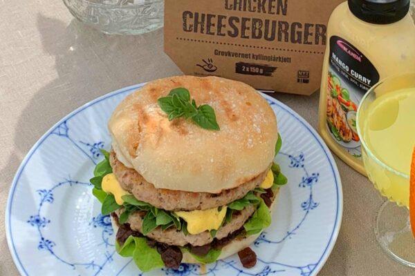 Chicken Cheese Burger 150 g 1-pk