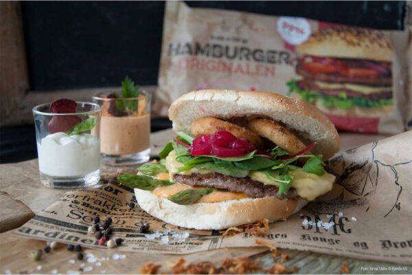 Hamburger Original 130 g 4-pk