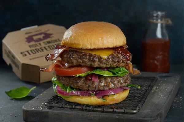Homestyle Holy Smoke Burger