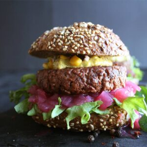 Homestyle Veganburger