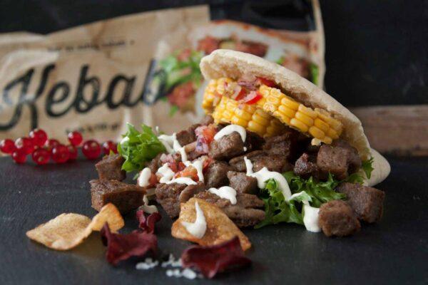 Kebab Porsjon 130 g 4-pk