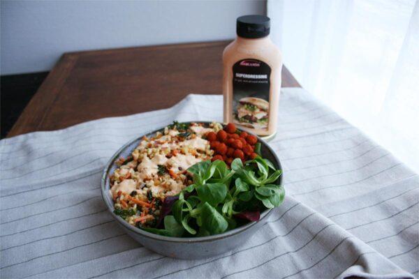 Superdressing på salat
