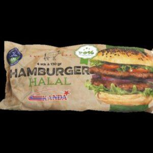 Hamburger Halal 130g 4-pk