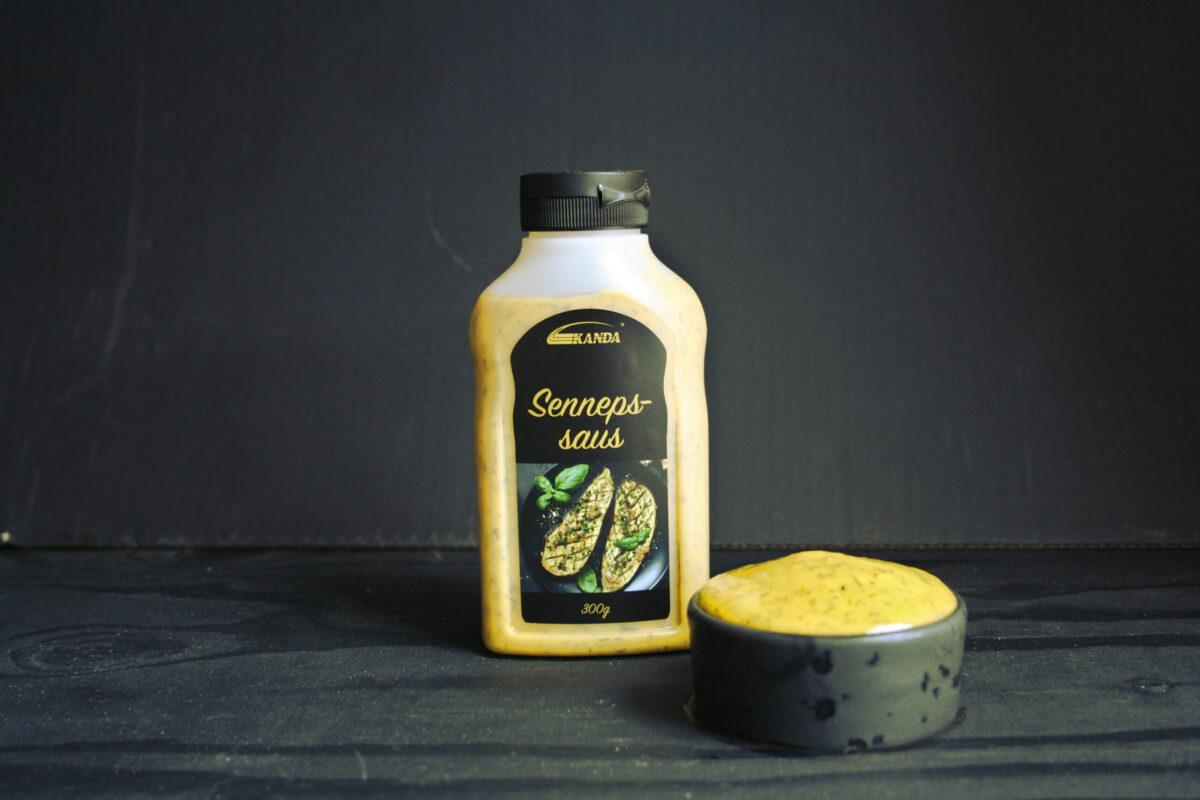 Kanda Sennepssaus 300ml flaske